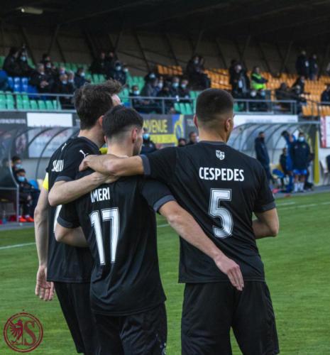 Vevey United - Servette FC (Coupe de Suisse)