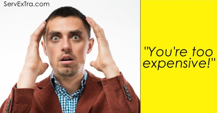 """Eliminating the """"You're too expensive"""" sales objection"""