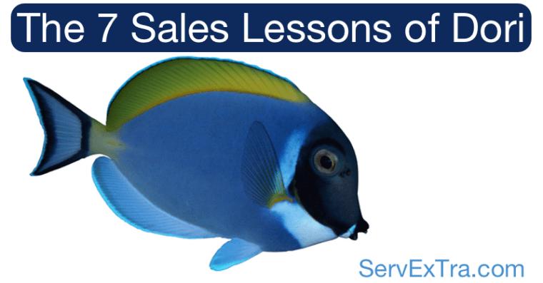 The 7 Sales Lessons of Dori