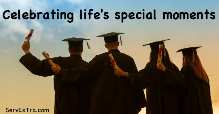 celebrating life's special moments