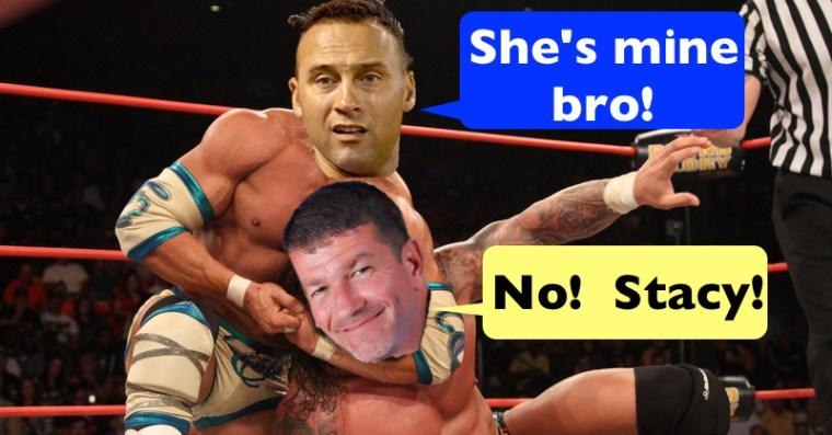 Terry in a headlock