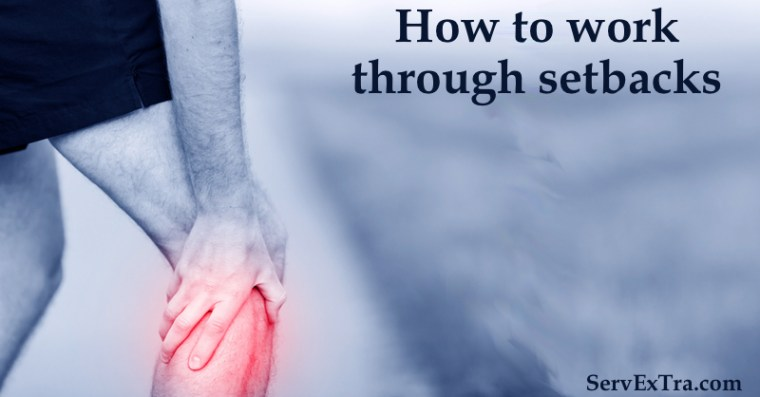 how to work through setbacks
