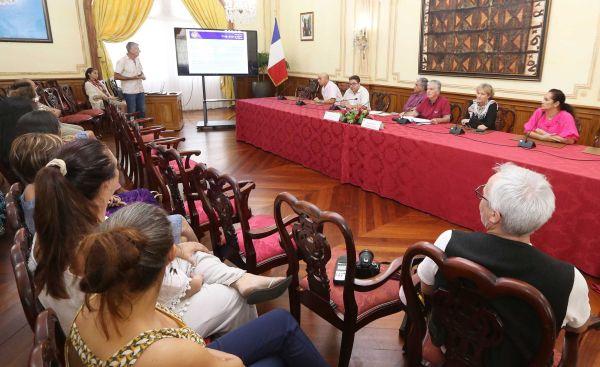 Conférence de presse sur le bilan du projet école en santé