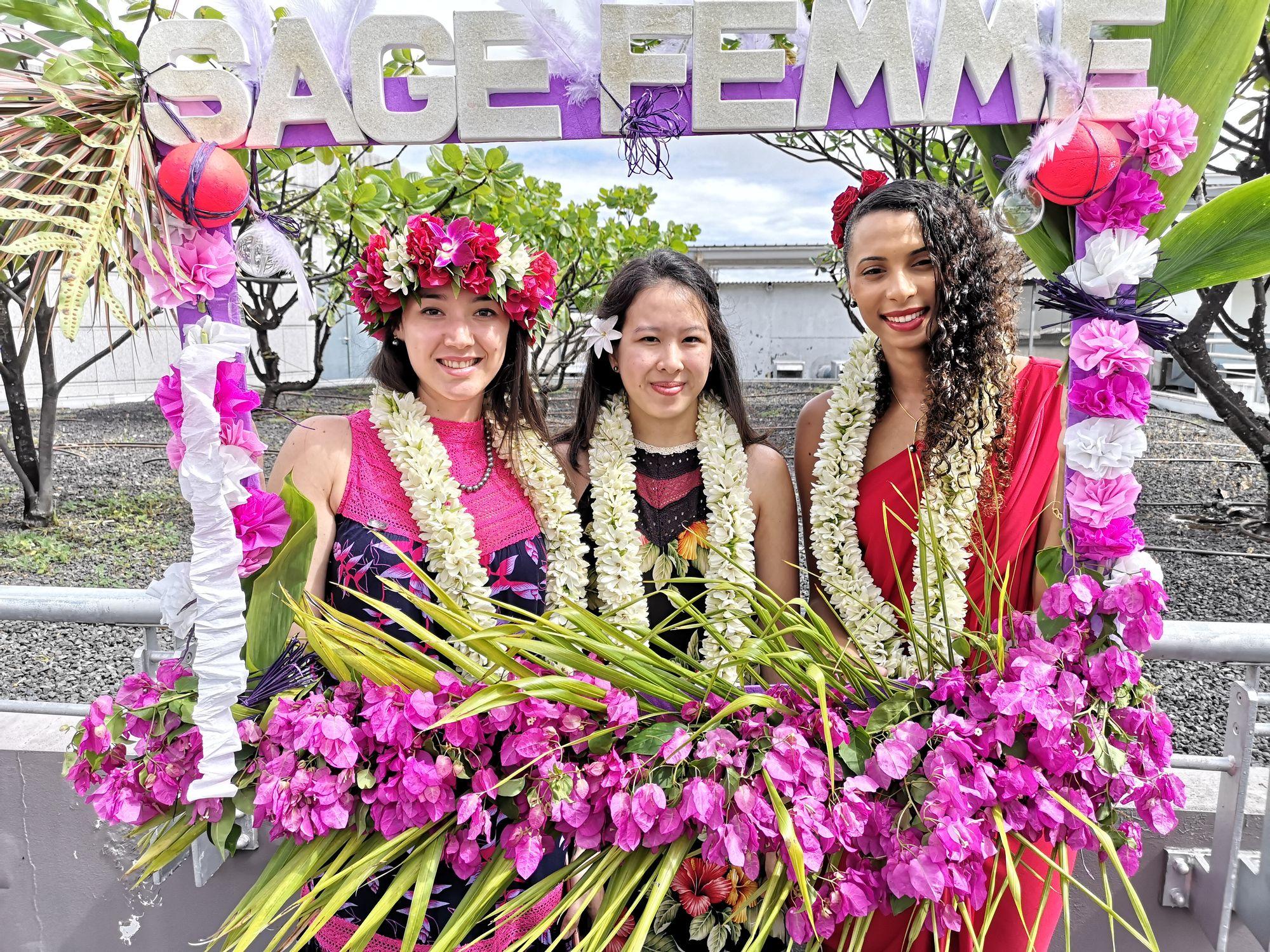 Les 3 lauréates sages-femmes de 2019