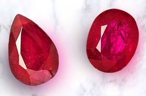 two rubies
