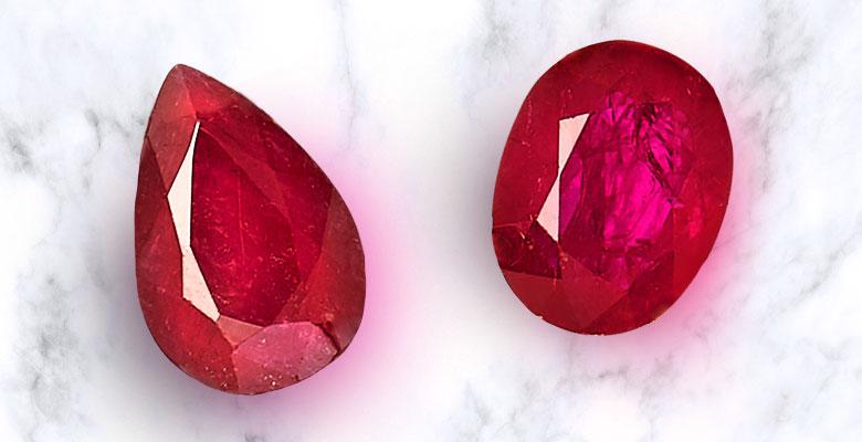 two rubies