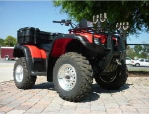 20012003 Honda TRX500FA Rubicon ATV Service Repair