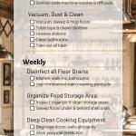 Restaurant Cleaning Schedule A Helpful 12 Step Checklist Servicemaster