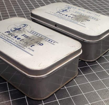 Vintage Medical Tins, Halco Products