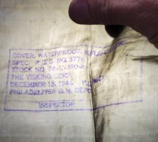 Waterproof Rifle Bag, Invasions, 1944