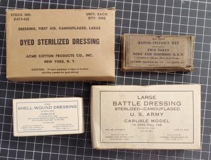 Set of Fur Original Bandages and Medical Items