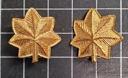 WWII Major Oak Leaves, Gold
