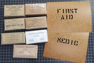 Reproduction Boxes Set - WWII Medic