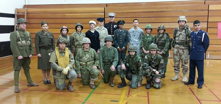 Full Group Vets Day 2013