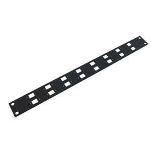 Patch Panel 1Ux16W Balun, Patch Panel 1U for 16W Balun (none included)