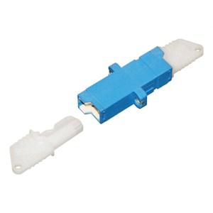 Adaptor E2000 Blue Simplex | E2000 Simplex Adaptor | E2000 Simplex adaptor | E2000 simplex coupler | E2000 simplex coupler | E2000 adaptor | E2000 adaptor| E2000 duplex adaptor | E2000 duplex coupler