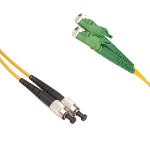 E2000/APC-FC Singlemode 9/125 duplex patchcord | FC singlemode patchcord | FC singlemode patch cord | FC patch cord | FC patchcord | E2000/APC singlemode patchcord |E2000/APC singlemode patch cord | E2000/APC patch cord |E2000/APC patchcord | FC-E2000/APC singlemode patchcord |FC- E2000/APC singlemode patch cord | FC-E2000/APC patch cord | FC-E2000/APC patchcord