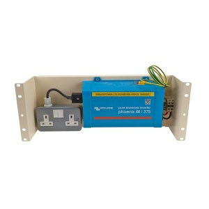 4u DC/AC Inverter Panel 48/375 with dual UK socket