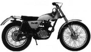 Honda TL125 TL 125 Manual