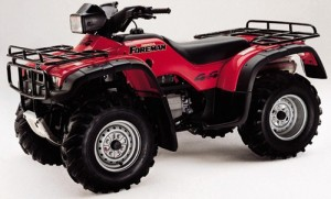 Honda TRX400FW TRX400 Foreman 400 ATV Manual