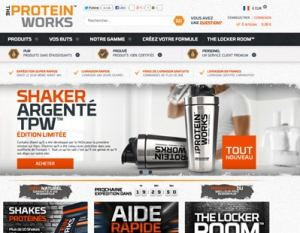 code promo the protein works