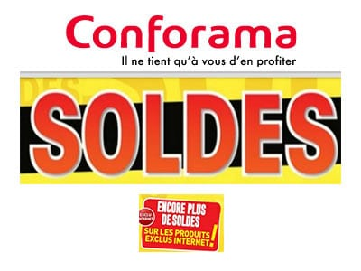 soldes conforama 2018 des r ductions d couvrir. Black Bedroom Furniture Sets. Home Design Ideas