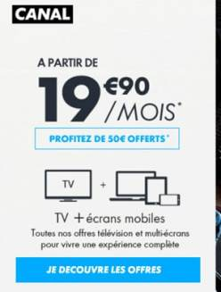 canal plus streaming