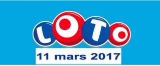 Loto 11 Mars 2017