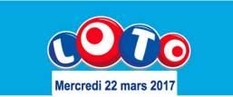 resultat loto 22 mars 2017