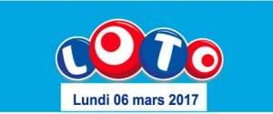 resultat loto 6 mars 2017