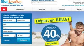 Code promo Mer Evasion réduction vacances 2017