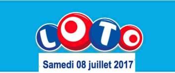 résultat loto 8 juillet 2017