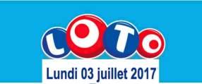 résultat loto 3 juillet 2017