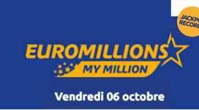 Résultat Euromillions et My Million (FDJ) tirage Vendredi 6 octobre 2017