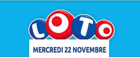 résultat loto 22 novembre 2017