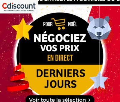 les promotions cdiscount