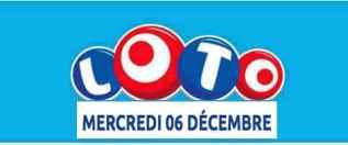 résultat loto 6 décembre 2017