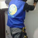 Instalación de ducha electrica