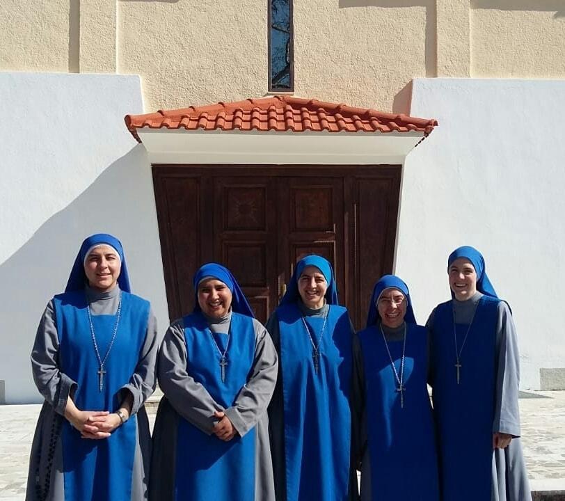 Fundación del Monasterio en Albania