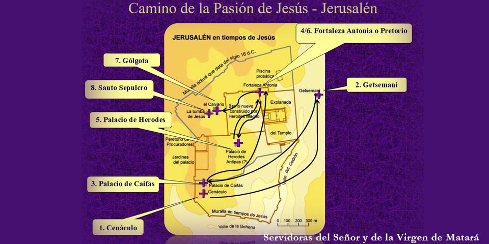Camino-de-la-Pasion-de-Jesus-Jerusalen