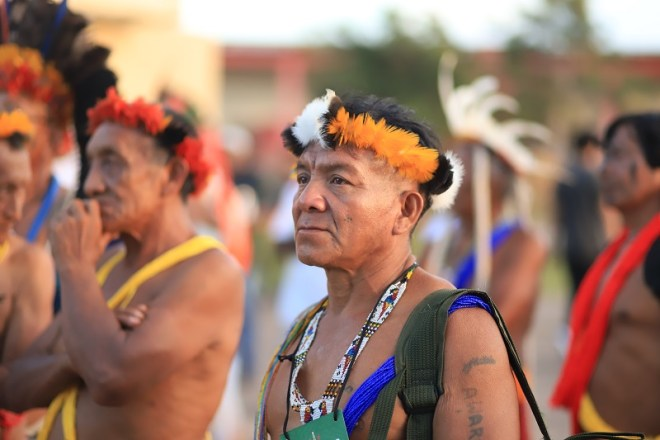 Indígena de Brasil. Foto: Ygor Negrão