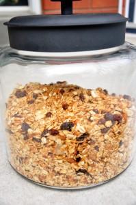 granola jar