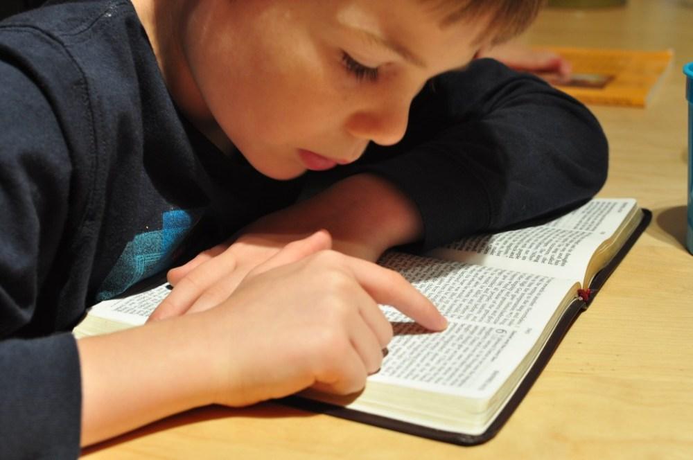 Reading about Daniel - Bible study quiet time