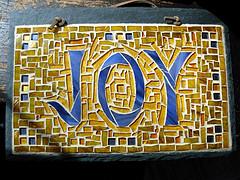 Joy Mosaic by Nutmeg Designs