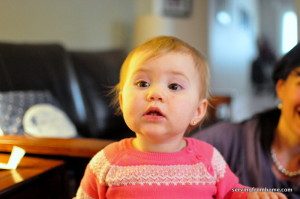 Eliana funny face