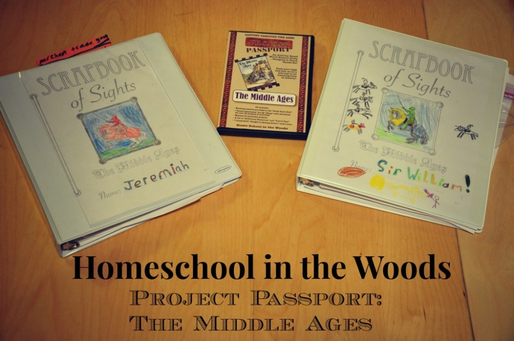 Project Passport Middle Ages Unit Study and Lapbook
