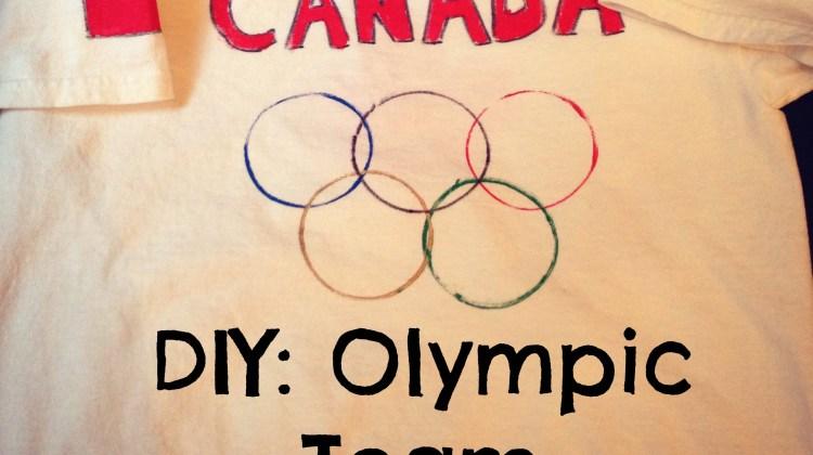 DIY Olympic Team Jerseys
