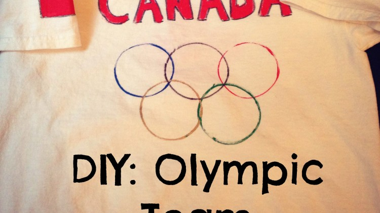 DIY Olympic Team Jerseys