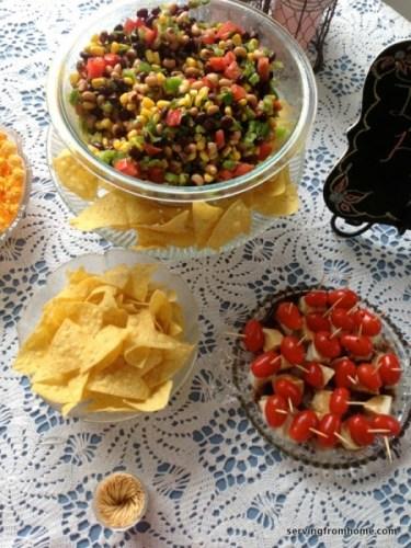 Mexican Caviar cowboy salsa