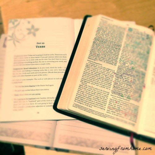 bible study quiet time